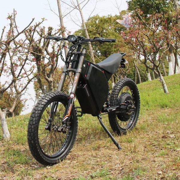 Motocicleta eléctrica Todoterreno 72v 12000w