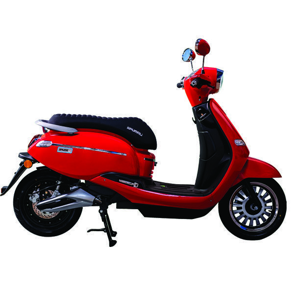 Scooter Eléctrico Ebroh Spuma Li 3000w Rojo