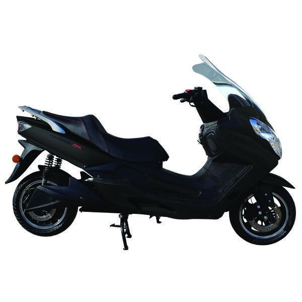 Maxi Scooter Eléctrico Ebroh Strada Max 5000w Negro