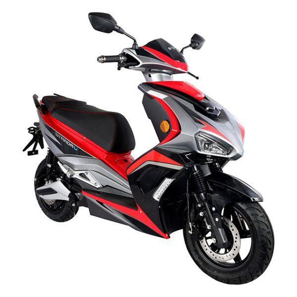 Scooter Eléctrico Strada Li 3000w Rojo