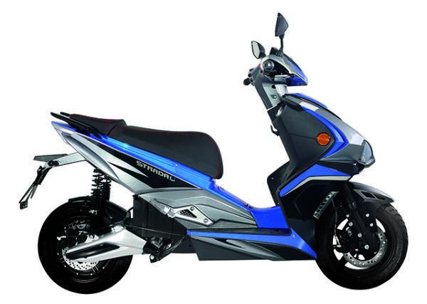 Scooter Eléctrico Strada Li 3000w Azul