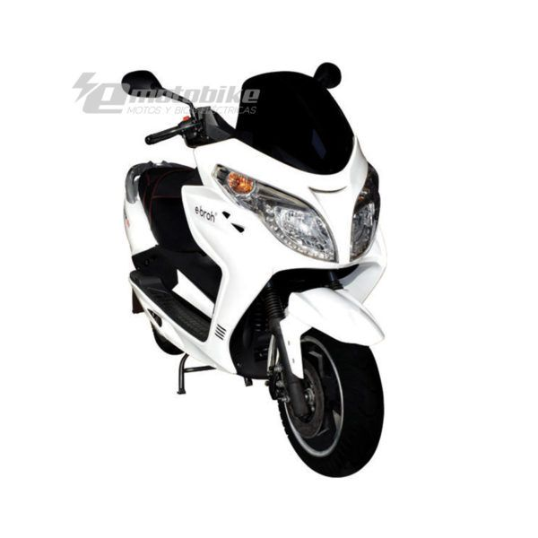 Maxi Scooter Eléctrico Ebroh Strada Max 5000w Blanco