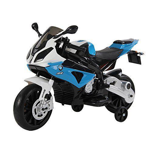Moto Electrica Infantil BMW 12V Azul