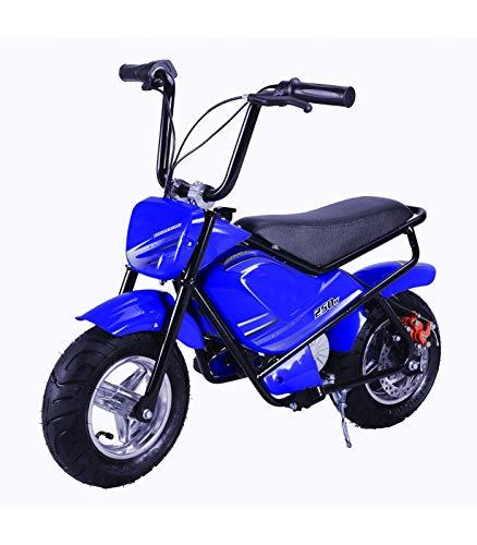 Mini moto eléctrica infantil 250w 24v COLOR: Azul, Rojo, Violeta, Verde