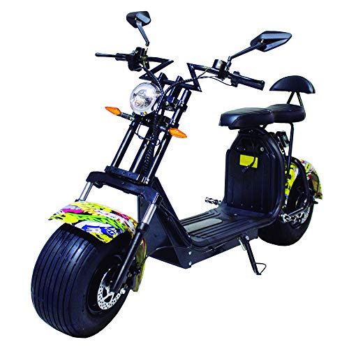 Moto eléctrica CityCoco Last Mille. 2000W Hip-Hop