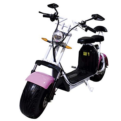 Moto eléctrica CityCoco Last Mille. 2000W Rosa