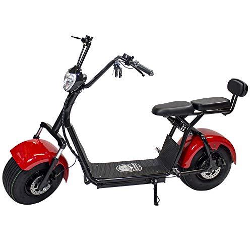 Moto Eléctrica CityCoco Last Mille. Potencia 1400W Rojo