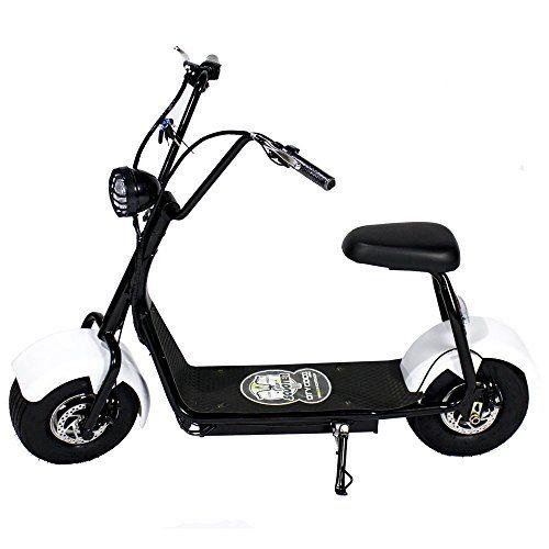 Moto eléctrica CityCoco MINI. Potencia 1000W Blanco