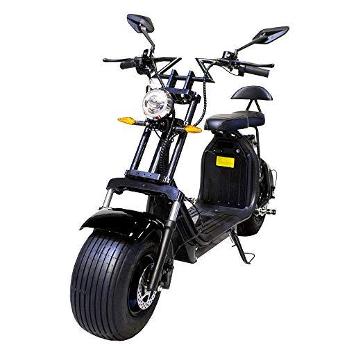 Moto eléctrica CityCoco. Potencia 2000W Negro