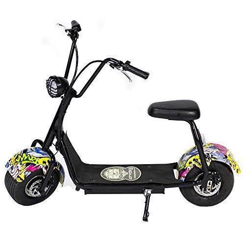 Moto electrica CityCoco MINI. Potencia 1000W