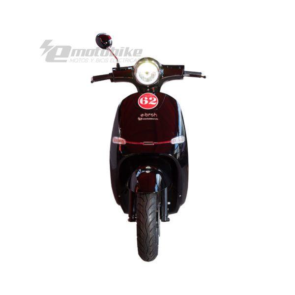 Scooter Eléctrico Ebroh Spuma Li 3000w Race Edition Negro