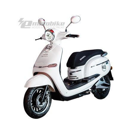 Scooter Eléctrico Ebroh Spuma Li 3000w Race Edition Blanco