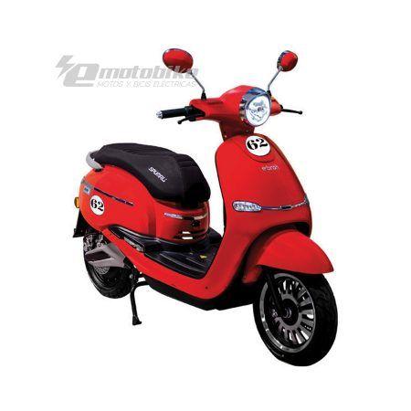 Scooter Eléctrico Ebroh Spuma Li 3000w Race Edition Rojo