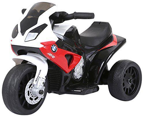 Moto eléctrica infantil BMW 6V Rojo, blanco azul