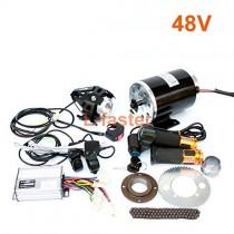 1000W moto electrica motor kit cambiando el gas ATV
