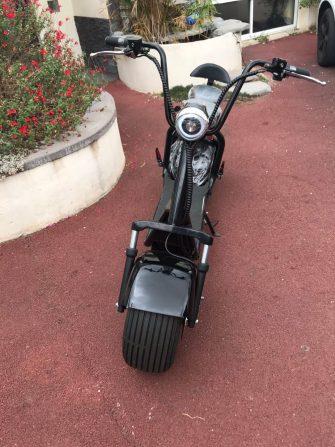 11,11 gran rueda Scooter Eléctrico dos ruedas 1000 W Motor de scooter...