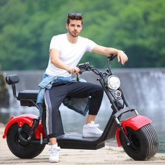 1500 W 20A motocicletas eléctricas absorción de choque City Scooter Acero de...