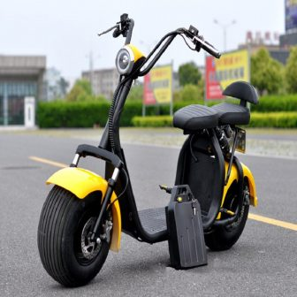 1500 W 60 V motocicletas eléctricas Citycoco litio moda Simple operación segura...