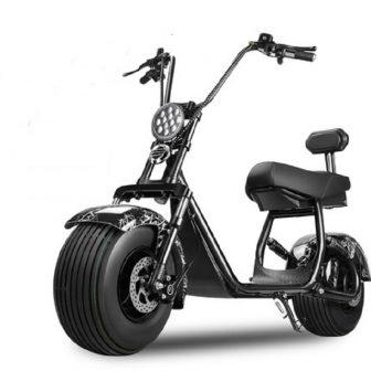 1500 W 60 VElectric Scooter un botón de inicio motocicletas eléctricas LED...