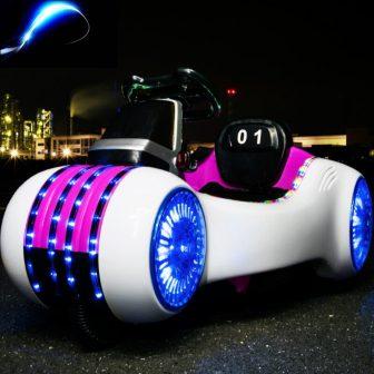 2018 batería doble de doble disco para niños vehículos eléctricos para el...