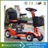 2018 nueva plegable E motocicleta suspensión Scooter Eléctrico CE estándar