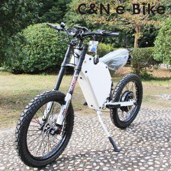 2018 Venta caliente 72 v 5000 W enduro ebike bicicleta eléctrica bicicleta...