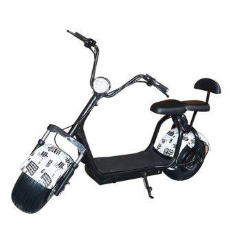 2018New motocicletas eléctricas citycoco eléctrico scooter doble asiento múltiples colores 60V20A 1500...