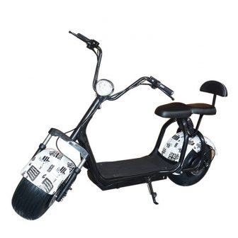 2018New motocicletas eléctricas eléctrico citycoco scoote asiento doble múltiples colores 60V20A 1500...