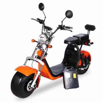 2019 de alta calidad Harley coche eléctrico doble ciudad skate scooter CE...