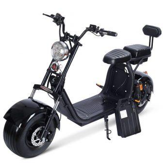 2019 de alta calidad Harley coche eléctrico doble ciudad skate scooter de...