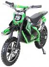Gepard – Motocicleta mini de Enduro y motocross verde