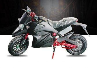 72 V de Alta potencia de la motocicleta eléctrica adulto locomotora para...