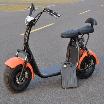 Adulto motocicleta eléctrica batería de litio extraíble eliminado cargada ce 1500 W...