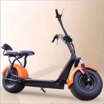 Adultos motocicleta eléctrica bicicleta eléctrica Citycoco 1000 W batería de litio de...