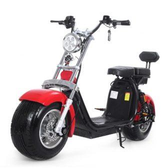 Batería de litio motocicleta eléctrica doble amortiguación primavera LED de baja energía...