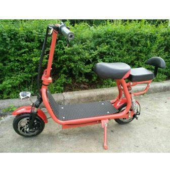 Bicicleta Eléctrica motocicleta eléctrica scooter Eléctrico Citycoco mini bici plegable batería de...
