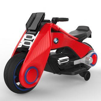 Bicicleta eléctrica para niños, triciclo para niños, juguete para niños, doble conducción,...