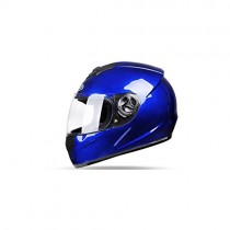 Casco De La Motocicleta Eléctrica Azul Hombres Four Seasons