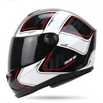 Casco de moto, ABS Alta resistencia Cáscara Anti-niebla