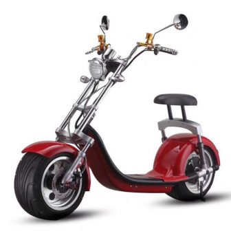 Coche eléctrico nuevo ocio Scooter Doble amortiguador neumático ancho dos asiento grande-de...