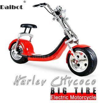 Daibot Scooter Eléctrico Harley Citycoco Scooter eléctrico de dos ruedas 60 V...