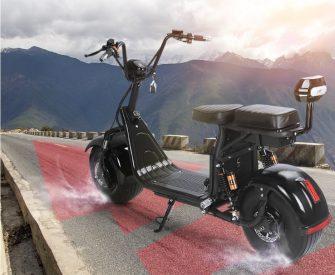 Eléctrica de la batería de litio de Citycoco Scooter 60V20AH motocicletas eléctricas...