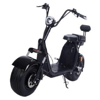 Eléctrica motocicletas Scooter un botón de inicio sistema Citycoco LED de baja...