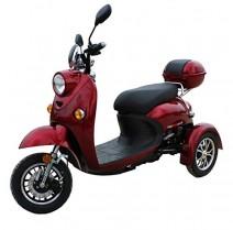 Elegante Retro Scooter Electrico 3 ruedas adulto Movilidad Reducida