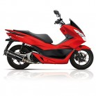 Escape Yasuni máxima de scooter 4T Black Carbon Honda PCX 125