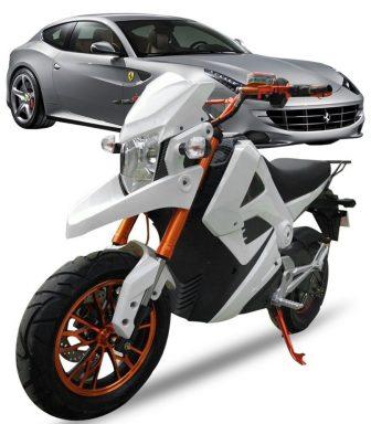 Estándar Nacional adulto motocicleta eléctrica electro dos ruedas motocycle
