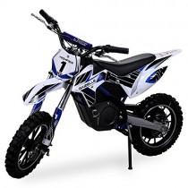 Gazelle ELEKTRO – Mini motocicleta de cross, 500 W azul