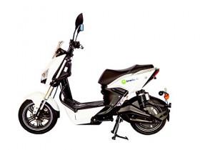 Ginkgo R1 Motor eléctrico Roller, Snow White, de dos plazas