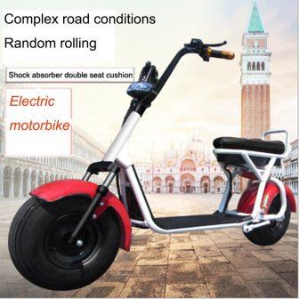 Halle eléctrico de la motocicleta de dos ruedas de freno hidráulico de...