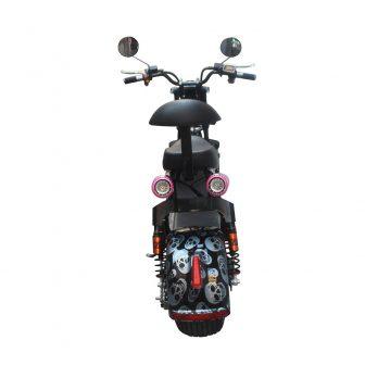 Harley batería adultos coche eléctrico con luz trasera con absorción de choque...